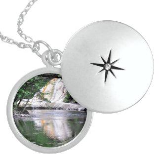 Saratoga Spa State Park-Geyser Creek Locket Necklace