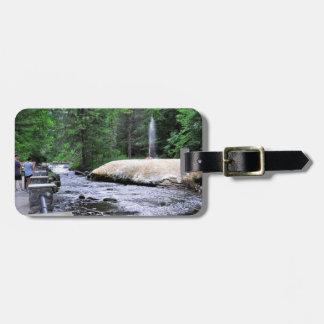 Saratoga Spa State Park-Geyser Creek Luggage Tag