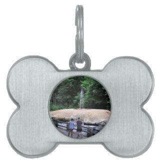 Saratoga Spa State Park-Geyser Creek Pet Name Tag