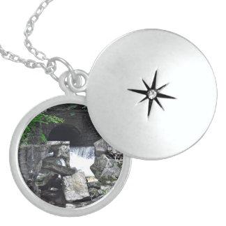 Saratoga Spa State Park-Geyser Creek Sterling Silver Necklace