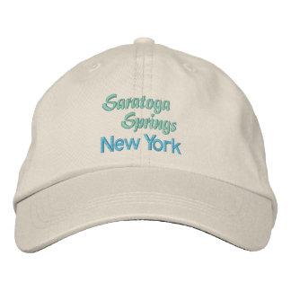 SARATOGA SPRINGS cap Embroidered Baseball Caps