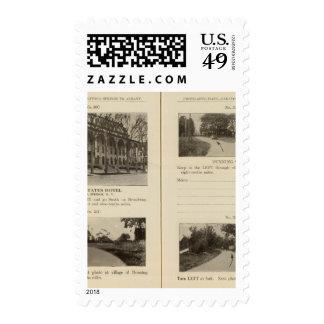 Saratoga Springs Dunning Street Postage Stamp