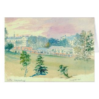 Saratoga Springs New York 1846 Card