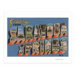 Saratoga Springs, Nueva York - escenas grandes de Tarjetas Postales