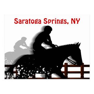 Saratoga Springs Postcard