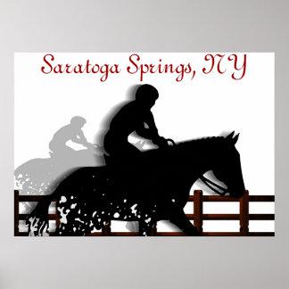 Saratoga Springs Poster