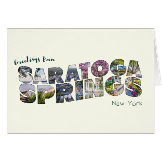Saratoga Springs Series 02 Greeting Card