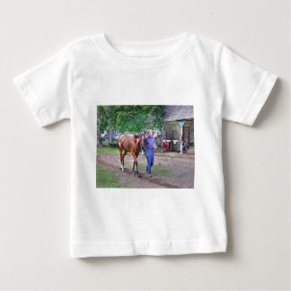 """Saratoga Stables """"Horse Haven"""" Baby T-Shirt"""