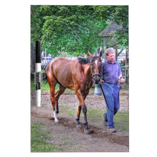 """Saratoga Stables """"Horse Haven"""" Dry Erase Whiteboards"""