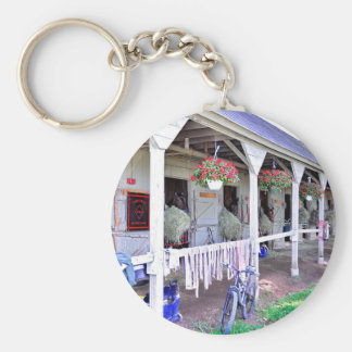 """Saratoga Stables """"Horse Haven"""" Keychain"""