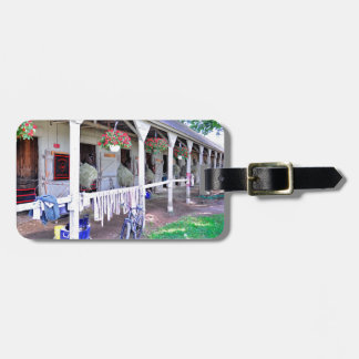 """Saratoga Stables """"Horse Haven"""" Tag For Luggage"""