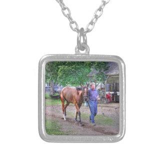 "Saratoga Stables ""Horse Haven"" Pendant"