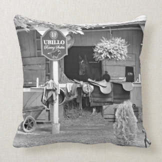 "Saratoga Stables ""Horse Haven"" Throw Pillows"
