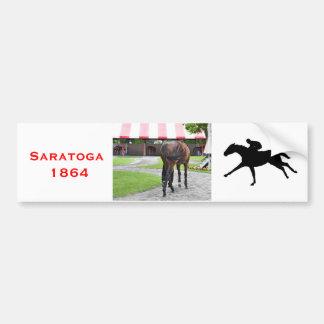 Saratoga Swish Bumper Sticker