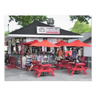 Saratoga Trackside Grill Photo Print