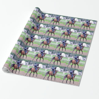Saratoga Workouts Since 1863 Wrapping Paper