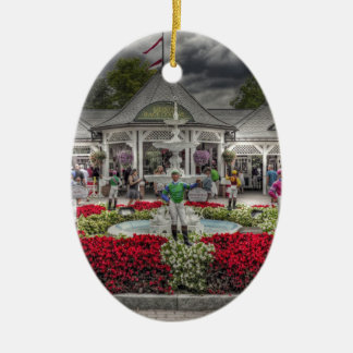 Saratoga's 12 Stakes Winners.jpg Ceramic Ornament