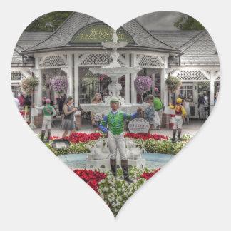 Saratoga's 12 Stakes Winners.jpg Heart Sticker