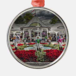 Saratoga's 12 Stakes Winners.jpg Metal Ornament