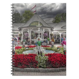 Saratoga's 12 Stakes Winners.jpg Spiral Notebook