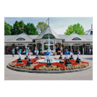 Saratoga's Iconic 12 Stakes Winning Lawn Jockeys Poster