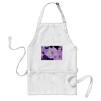 Saratoga's Mid-August Purple Wild Flower Adult Apron