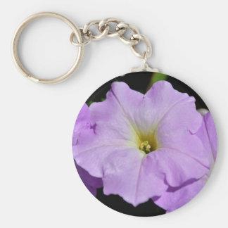 Saratoga's Mid-August Purple Wild Flower Keychains