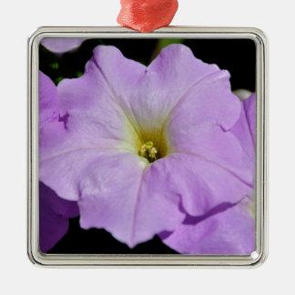 Saratoga's Mid-August Purple Wild Flower Metal Ornament