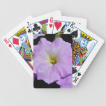 Saratoga's Mid-August Purple Wild Flower Bicycle Card Deck
