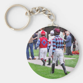 Saratoga's Top Jockeys heading to the Paddock Keychain