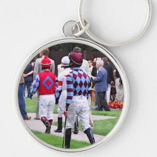 Saratoga's Top Jockeys heading to the Paddock Keychain