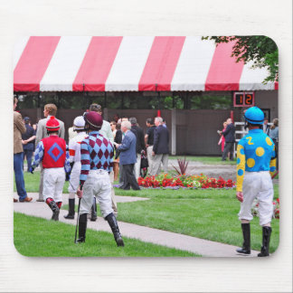 Saratoga's Top Jockeys heading to the Paddock Mouse Pad
