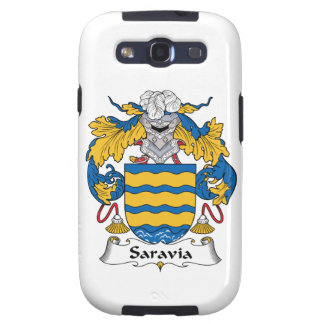 Saravia Family Crest Galaxy S3 Cases