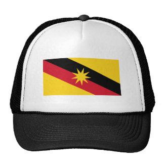 Sarawak flag trucker hat