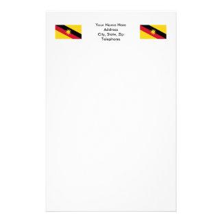 Sarawak flag stationery