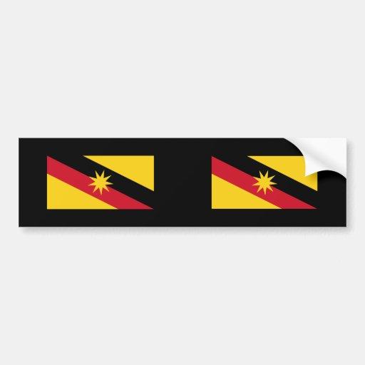 Sarawak, Malasia Pegatina De Parachoque