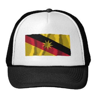 Sarawak waving flag trucker hats