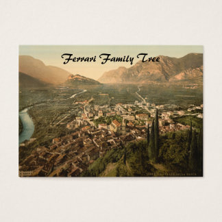 Sarca Valley I, Arco, Trentino-Alto Adige, Italy Business Card