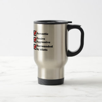 Sarcasm Checklist Mugs