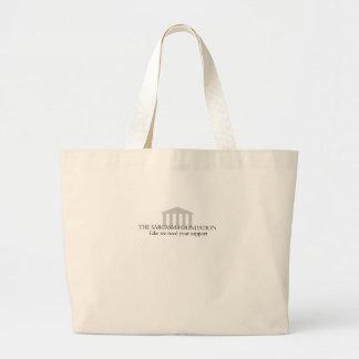 Sarcasm Foundation Canvas Bags