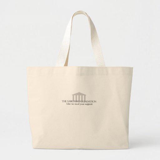 Sarcasm Foundation Jumbo Tote Bag