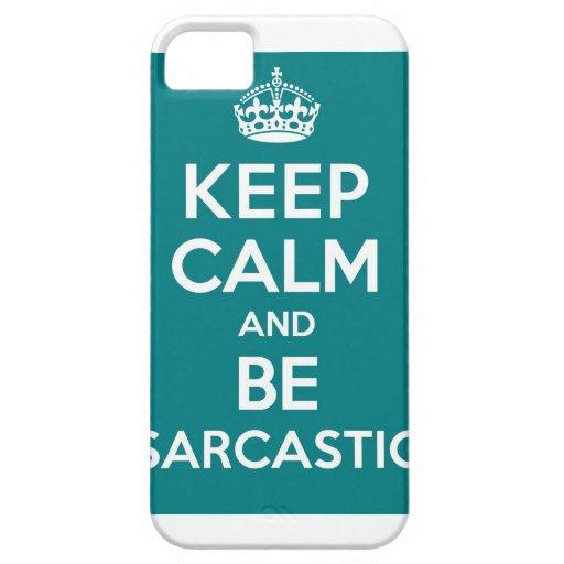 Sarcasm iPhone 5 Cases