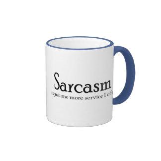Sarcasm Is Just One More Service Ringer Mug