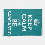 Sarcasm Kitchen Towel