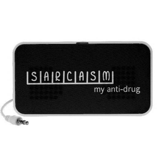 SARCASM my anti-drug Portable Speaker