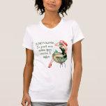 Sarcasm Pin Up Girl T Shirts