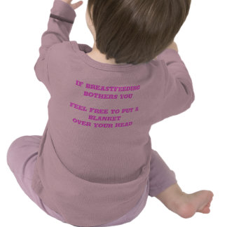 Sarcasmo de amamantamiento camisetas