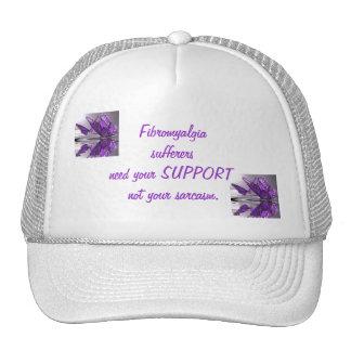Sarcasmo de la ayuda del Fibromyalgia no Gorras
