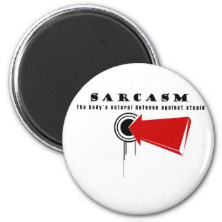 SARCASMO, la defensa natural del cuerpo contra est Imán Redondo 5 Cm