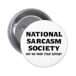 Sarcasmo nacional pins